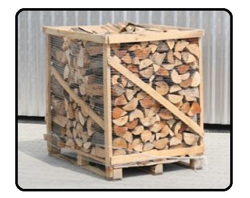 Krbové dřevo s certifikací FSC 1m3
